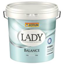LADY Balance - väggfärg för bra inomhusmiljö