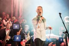 Simon Zion, Algesten, Fröken Elvis, Halm och musikkår bland många musikinslag under Stora Nolia i Umeå