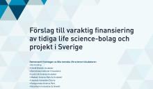Sveriges life science-inkubatorer pekar på potential och förslag