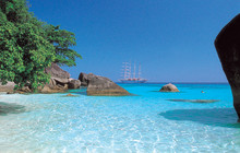 På øyhopping i Sørøst-Asia -med fantastisk seglcruise og Star Clippers