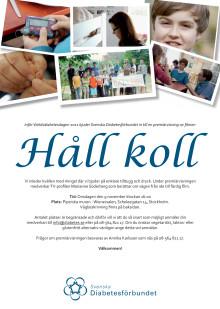 Inbjudan till premiärvisningen av Håll Koll