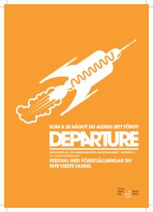 Folder med program - DEPARTURE 2012