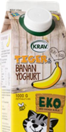 Tigers® yoghurt satsar på ekologiskt och ursprungsmärkning