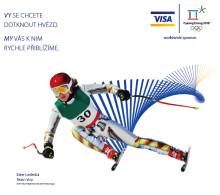 Visa odměňuje zákazníky Albertu za platby Visa kartou během olympiády v Pchjongčchangu 2018