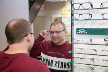 Life-saving eye test for 29-year-old in brain tumour ordeal