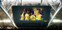 Friends Arena visar Sveriges gruppspelsmatcher live