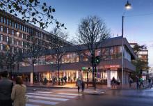 Nya restauranger till Kungsholmens nya knutpunkt i korsningen Scheelegatan/Fleminggatan