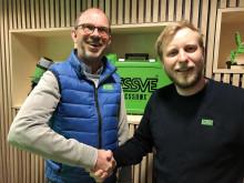 Håkon (35) blir ny sjef i ESSVE Norge
