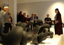 Mer än dubbelt så många besökte Lidköpings konsthall 2017