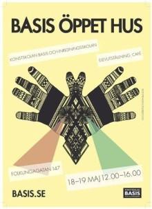 Välkommen till Öppet Hus på Konstskolan Basis och Inredningsskolan 18-19 maj 12.00-16.00