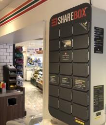 Smart överlämning av nycklar hos 7-Eleven med Sharebox