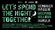 Let's Spend The Night Together – en sommarkväll deluxe i Göteborg, Kalmar, Malmö, Uppsala och Linköping