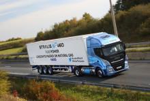IVECO Stralis NP med rekordlang kjørestrekning på en LNG-fylling