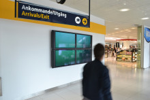 Internationell videokonst visas på flygplatsen