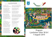 Program Ljusfesten 2015