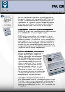 SMS övervakning via TWCT20