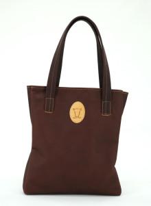 Vårnyhet från Målerås Läder  - Exklusiv handväska i fullanilinläder