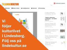 Vi följer kulturlivet i Lindesberg - följ oss!