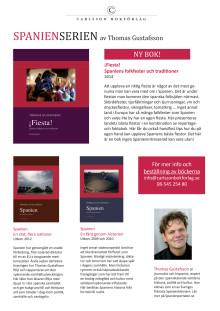Böckerna i Spanien-serien av Thomas Gustafsson