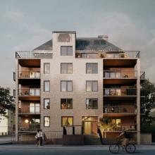 Wästbygg uppför kvarteret Trasten i Borås