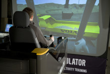 Volvo maskinsimulatorer - stimulering genom simulering