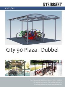Produktblad Cykeltak City 90 Dubbel