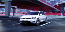 New VW Golf GTE plug-in hybrid set for Geneva debut
