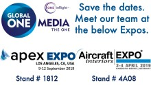 Meet Global ONE Media team at AIX Hamburg and APEX Los Angeles