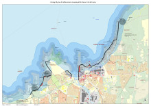 Förslag differentierat strandskydd (karta)