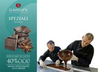 Sommaren tillhör Italienska chokladmästarna Gardini: Del 4 av 5 – mjölkchoklad med anis