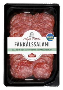 Nyhet inom rumstemperad chark - svensk, kvalitativ salami
