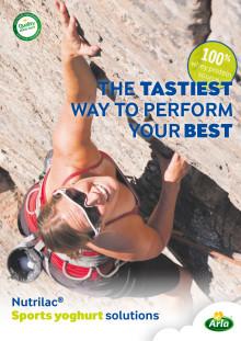 Sports yoghurt solutions