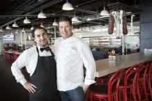 Restaurang Monstro blir familjens nya favorit på Arlanda