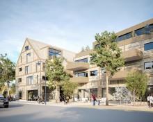 Hauschild + Siegel ska bygga 40 hållbara hyresrätter i centrala Höllviken