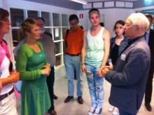 Ministerbesök på IT-gymnasiet Sundbyberg