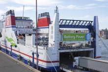 Gode resultater for batteriprosjektet på Stena Jutlandica