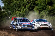 Hedström och Olofsson stod pall I RallyX Nordic på RING Knutstorp