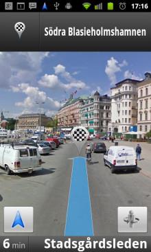 Google lanserar Google Maps Navigation (Beta) för mobiler --  gratis GPS 'satnav' med gatu- och satellitvy