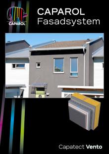Capatect Vento - Ventilerat fasadsystem utan isolering