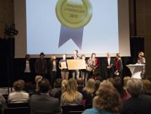 Kart- och GIS-enheten vann kvalitetsutmärkelsen
