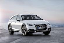 Världspremiär för Audi A4 allroad quattro på bilmässan i Detroit