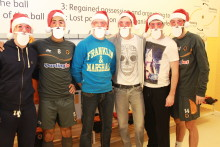 Wolves Players become Super Santas for Birmingham Children's Hospital