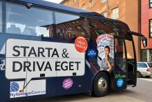 Nyföretagarturné ger boost och råd i Gävle 27 april