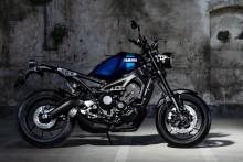 """「XSR900 ABS」のカラーリングを変更 """"ヤマハスポーツヘリテージ""""イメージと、スポーティーさを強調する新色を採用"""