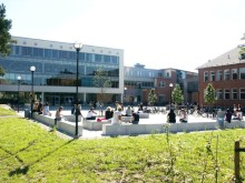 Intresserade studenter besökte Högskolan Väst