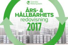 Svenska Returystsem publicerar Års- och hållbarhetsredovisning för 2017