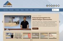 dach-holz.tv – Nachrichtensender für Zimmerer und Dachdecker