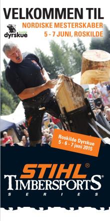 Informationsfolder STIHL TimbersportS