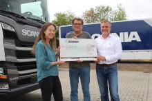 Scania spendet 1.000 Euro für Koblenzer Schachtel