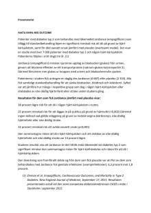 Fakta om EMPA-REG OUTCOME
